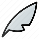 feather, write, design, blur
