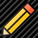 pencil, draw, design, edit