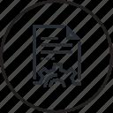 design, file, line, setting icon