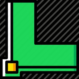 align, design, graphic, stroke, tool icon