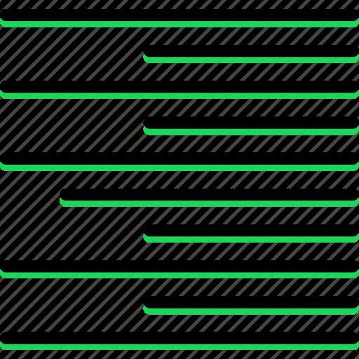 align, design, graphic, right, text, tool icon