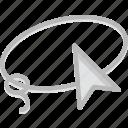 design, graphic, lasso, tool icon