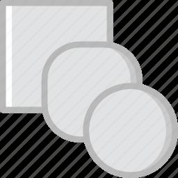 blend, design, graphic, tool icon
