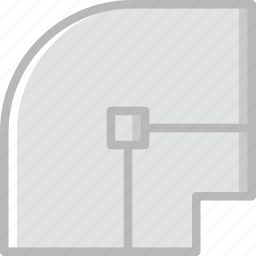 design, graphic, join, round, tool icon