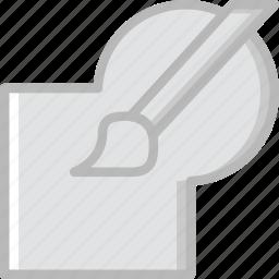 blob, blush, design, graphic, tool icon