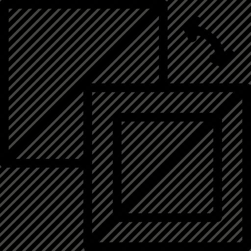 and, design, fill, graphic, stroke, swipe, tool icon