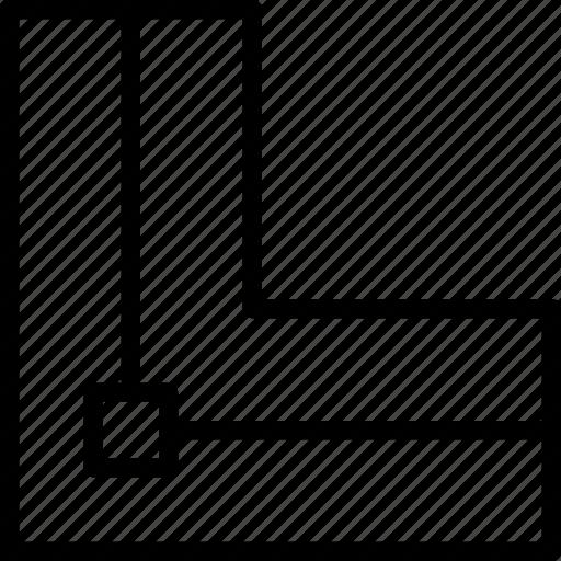 align, center, design, graphic, stroke, to, tool icon