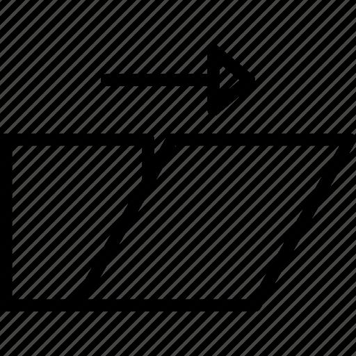 design, graphic, shear, tool icon
