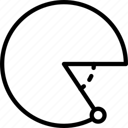 angle, design, graphic, pie, tool icon