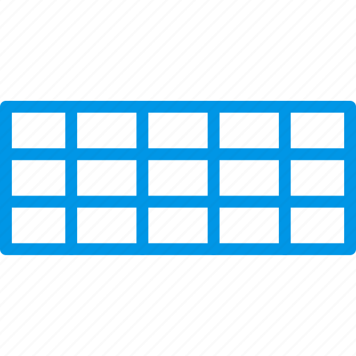 design, graphic, grid, rectangular, tool icon