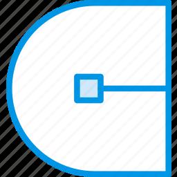 cap, design, graphic, round, stroke, tool icon