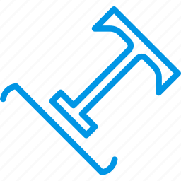 a, design, graphic, on, path, tool, type icon