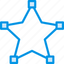design, edit, graphic, line, star, tool icon