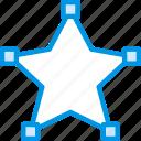 design, edit, graphic, line, star, tool