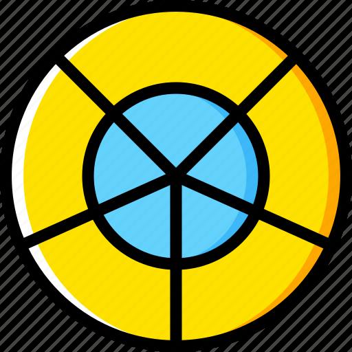 design, graphic, grid, polar, tool icon