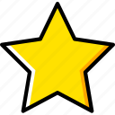 design, graphic, star, tool icon