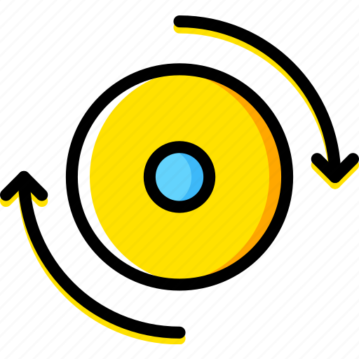 design, graphic, spinner, tool icon