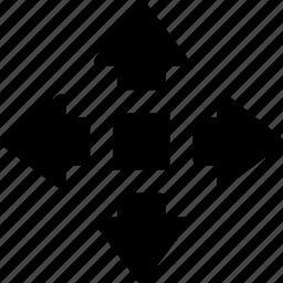 cad, design, move, solid icon