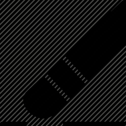 cad, design, erase, solid icon