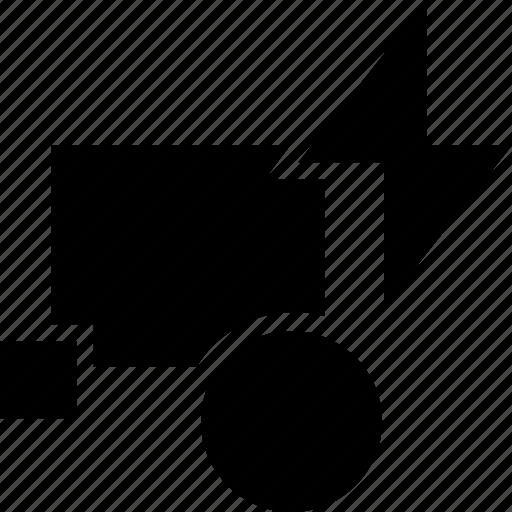 block, cad, design, edit, solid icon