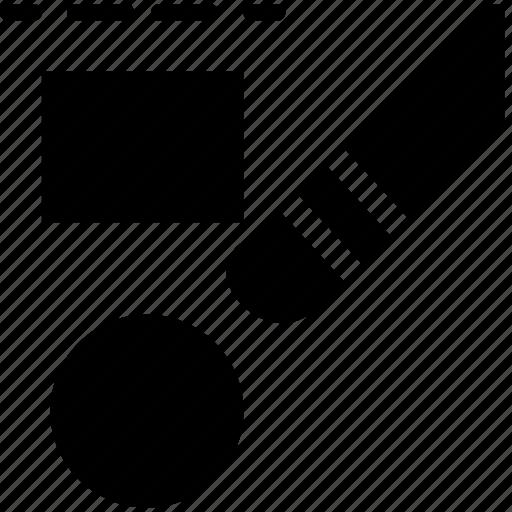 cad, design, solid, ungroup icon