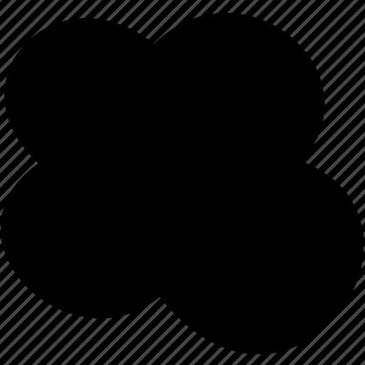 cad, cloud, design, revision, solid icon