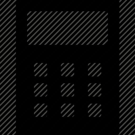 cad, calculator, design, quick, solid icon