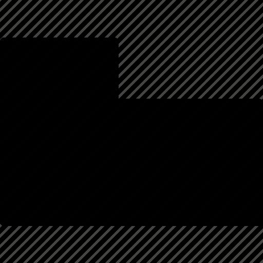base, cad, design, solid icon