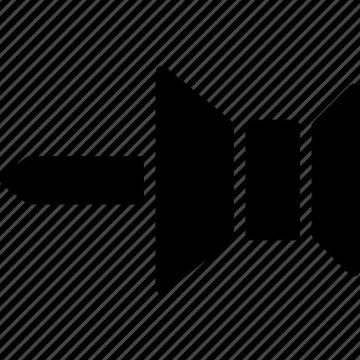 cad, design, menu, pin, solid, to icon