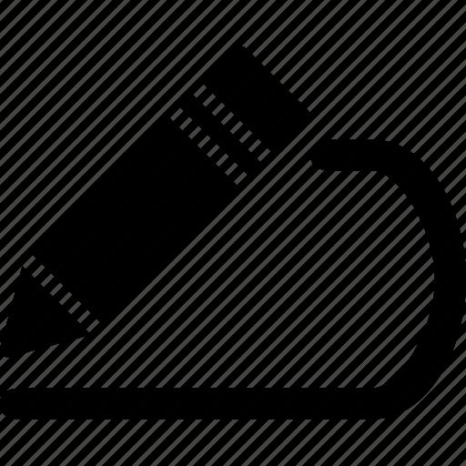 cad, design, edit, polyline, solid icon