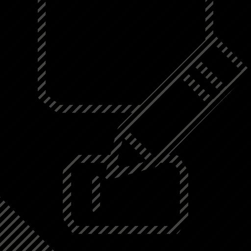 as, cad, design, save, solid icon
