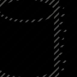 cad, design, measure, solid, volume icon