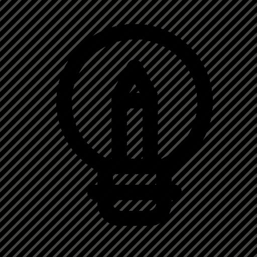 design, graphic, light, pencil, tool icon