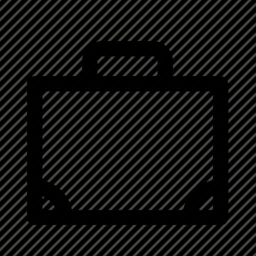 design, graphic, portfolio, suitcase, tool icon