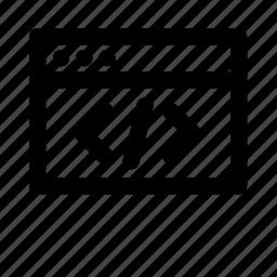 code, coding, design, graphic, tool, ui icon