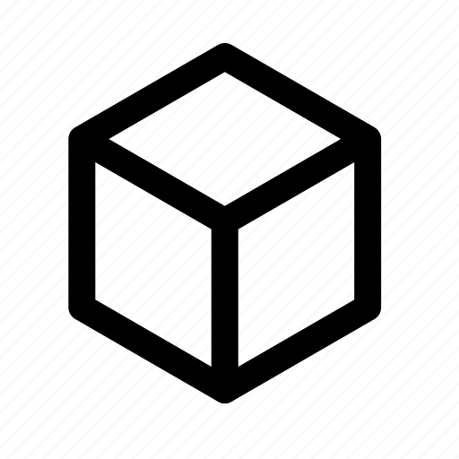 cube, design, graphic, square, tool icon