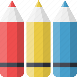 children, colors, design, education, graphic, pencils, school icon
