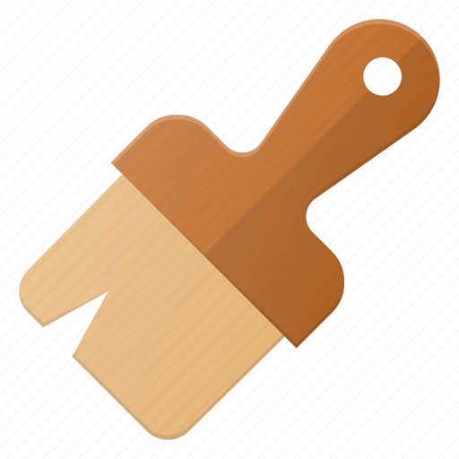 brush, paint, painting, tool icon