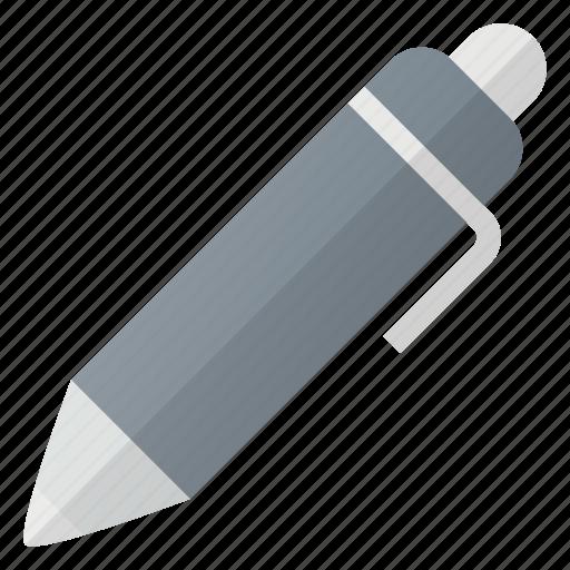 ball, pen, roller, sign, write icon