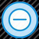 add, less, no icon