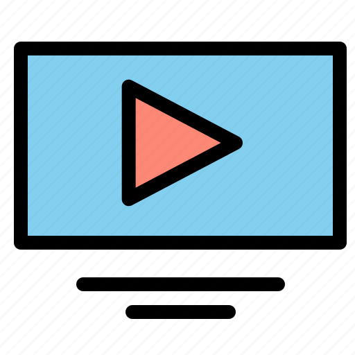 Play, video, youtube icon - Download on Iconfinder
