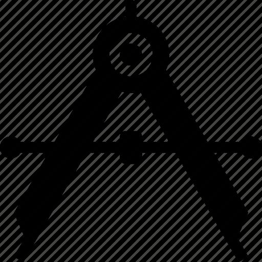 architect, architecture, compass, design, drafting, draw icon icon