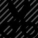 cut, cutting, scissor, scissors, tool icon icon