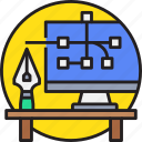 art, computer, creative, design, digital, graphic, tool icon