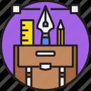 art, creative, design, graphic, tool icon
