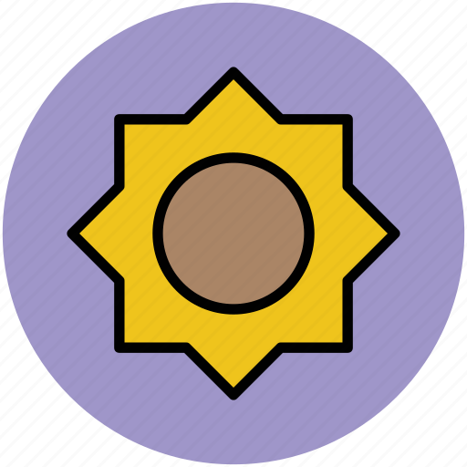 design, designing, polygon, polygon draw, polygon shape, sunflower shape icon