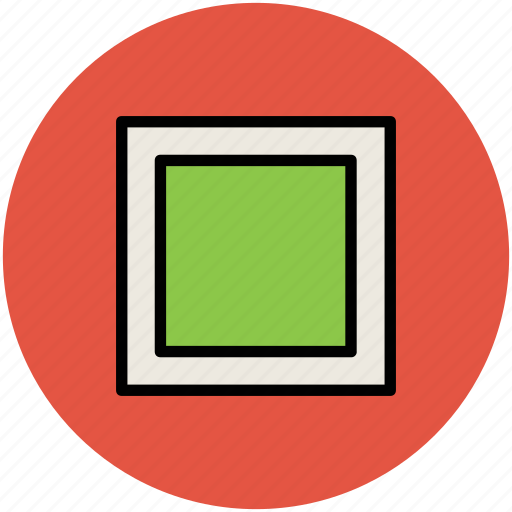box, fill, rectangle shape, rectangle view, square icon