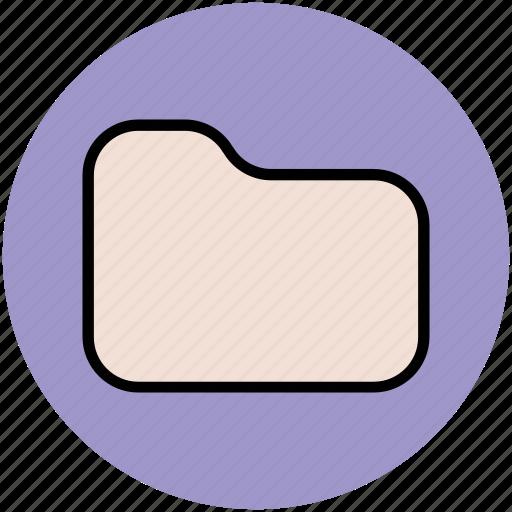 design, folder, folder shape, stroke folder icon
