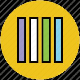 bar lines, design, lines, slider lines icon