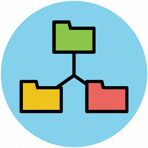 connectivity, container, folder connection, folder share, network, storage icon
